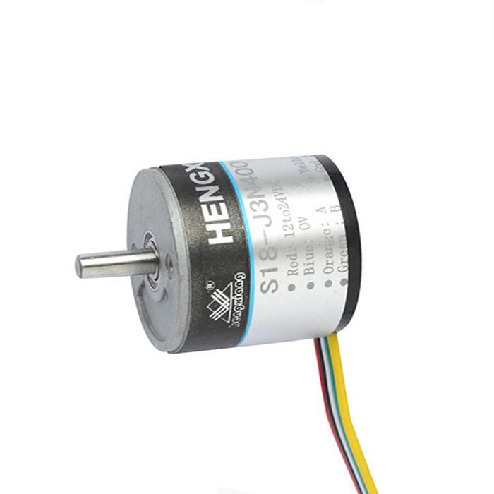 S18-J3N100 solid shaft 2.5mmA+B+Z+ 100ppr NPN measuring speed encoder meter