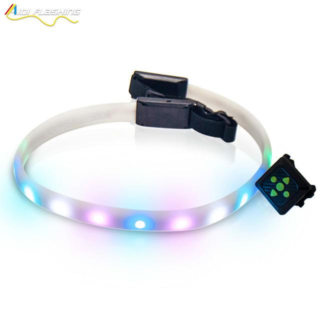 New Function new design creative USB charge led waist running belt for running