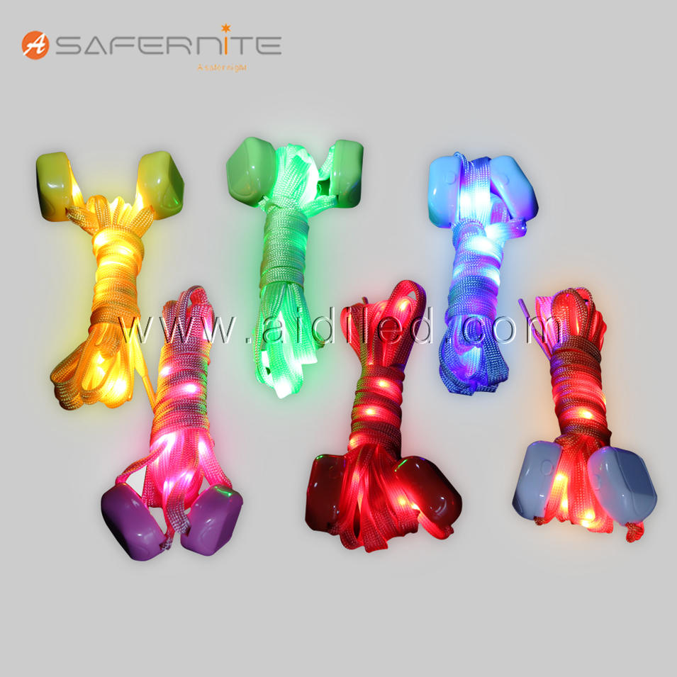6 Pairs LED Nylon Shoelaces Light Up Shoe Laces with 3 Modes in 6 Colors Disco Flash Lighting the Night for Party Hip-hop