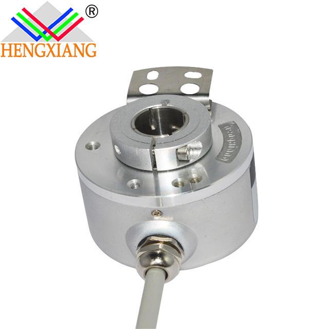 hengxiang bilnd hole 12mm K50 8mm hollow shaft angle sensor 2500 line encoder