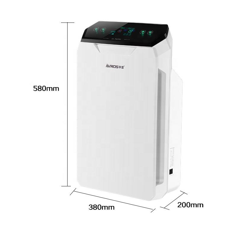 Hot Sale Smart auto air purifier indoor Hepa filter for air purifier