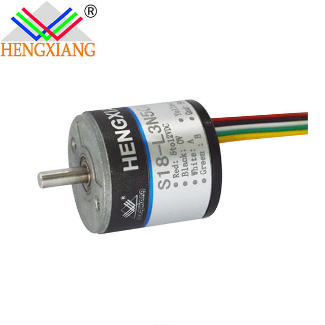 18mm incremental encoder Length measuring rotary NPN open collector
