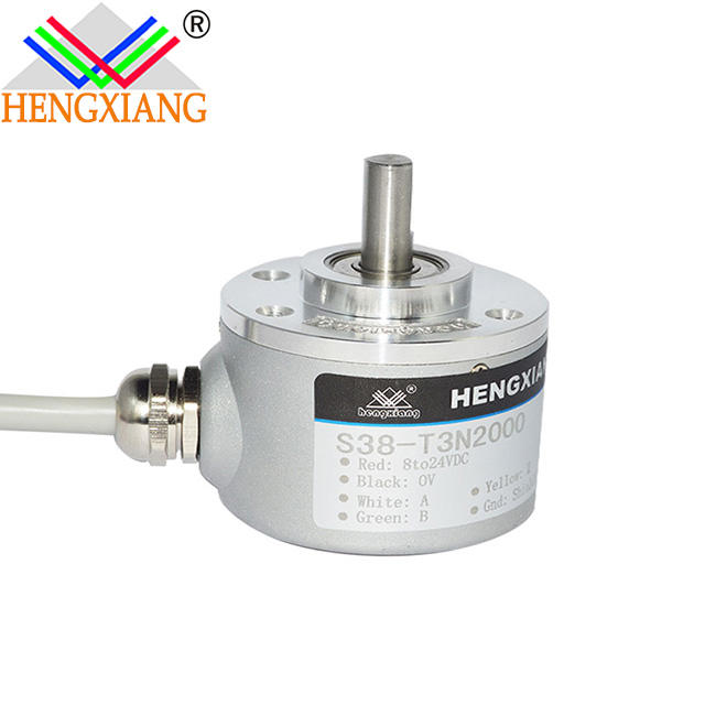5mm shaft rotary encoder Optical Encoder Applied To Pipe Machine 1024 Pulse Rotary OIS38-2500C/T-C3