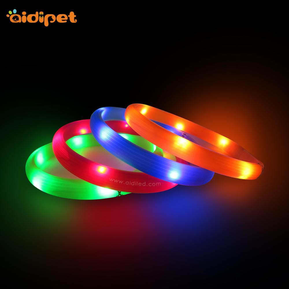 Hot Sale Safety USB Rechargeable LED Dog Collar