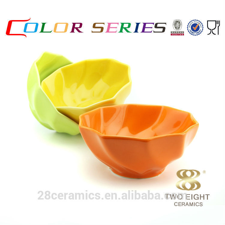 Wholesale ceramic crockery dessert containers, chaozhou fengxi porcelain