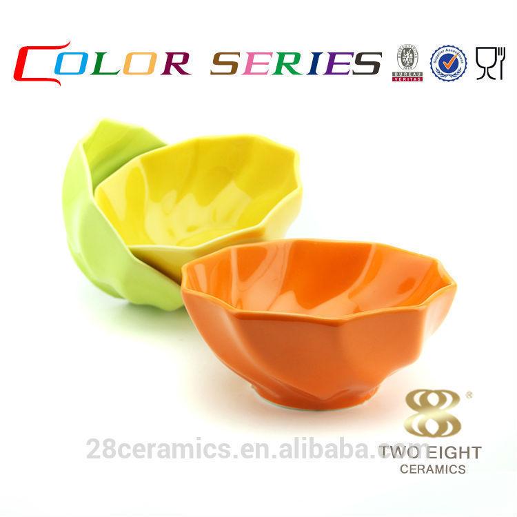 Wholesale ceramic crockery dessert containers, chaozhou fengxi porcelain