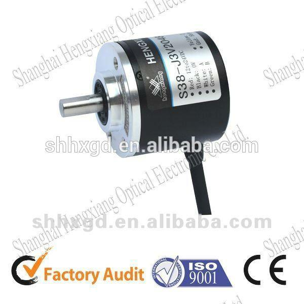 solid shaft 38mm rotary encoder revolution can be 2500 P/R Sensor Counter