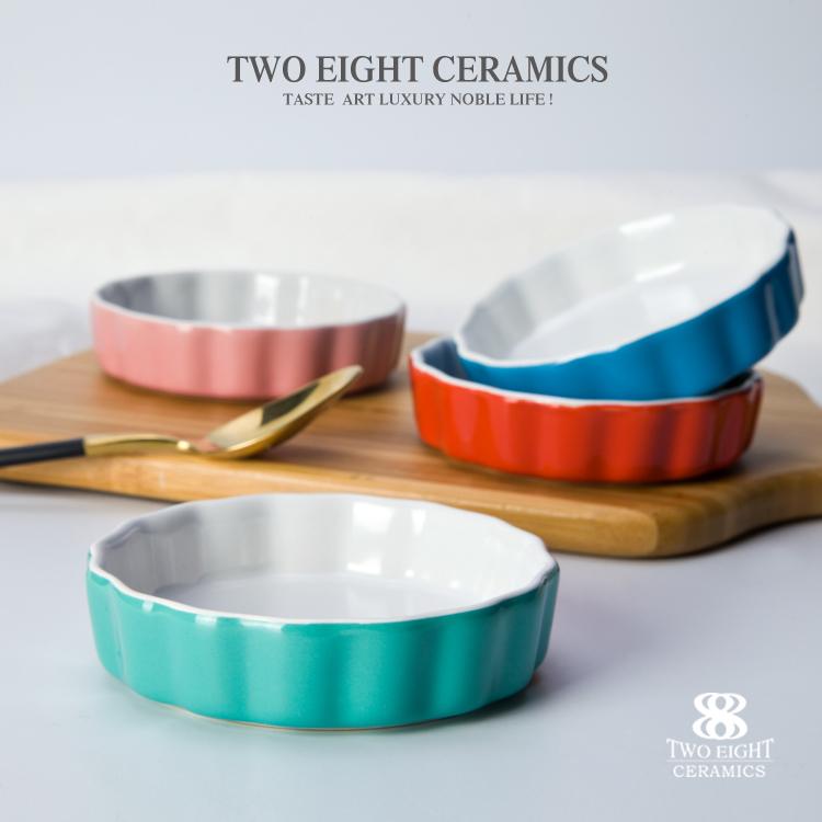 wholesale bakeware home porcelain ceramic color porcelain ceramics
