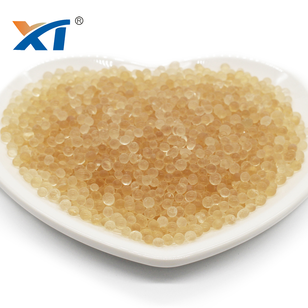 XINTAO Orange Blue Transparent Silica Gel Absorbent Cobalt free silica gel desiccant