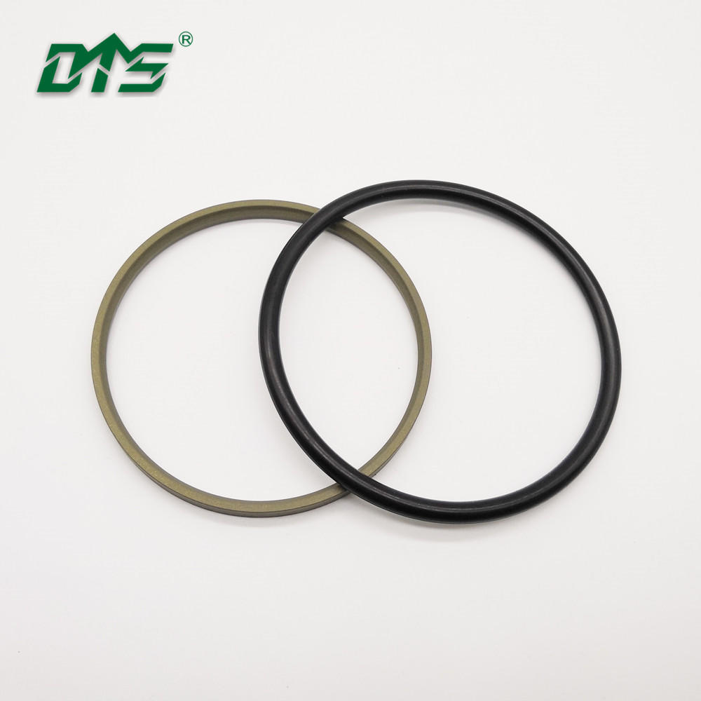 Single Acting Rubber Energized Plastic FacedSeal step seal for hydraulic sealing