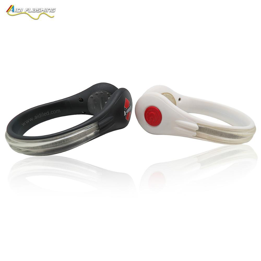 Light Weight Safety LED Shoes Clip For Night Running Cycling Jogging FlashingShoe clip light(big size)