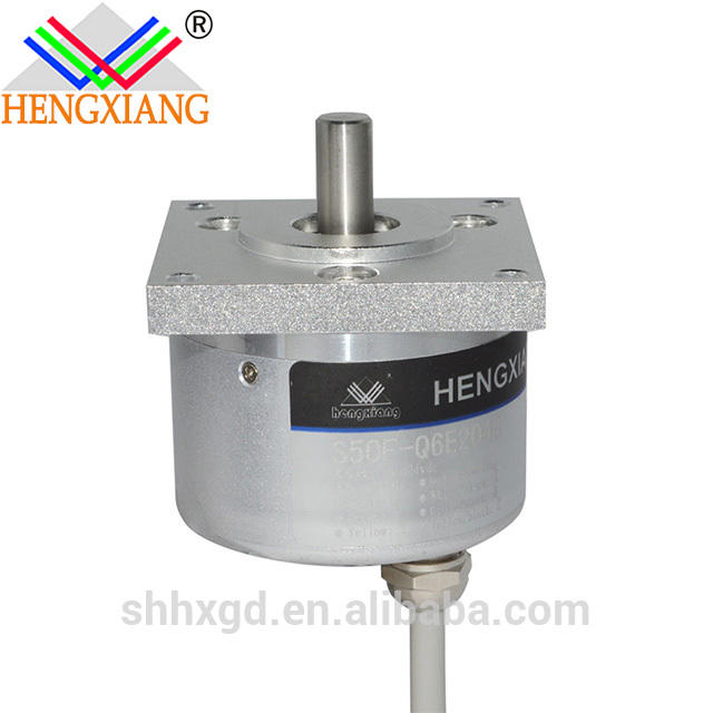 Flange S50F-L Series Incremental encoder magnetic encoder 16384ppr