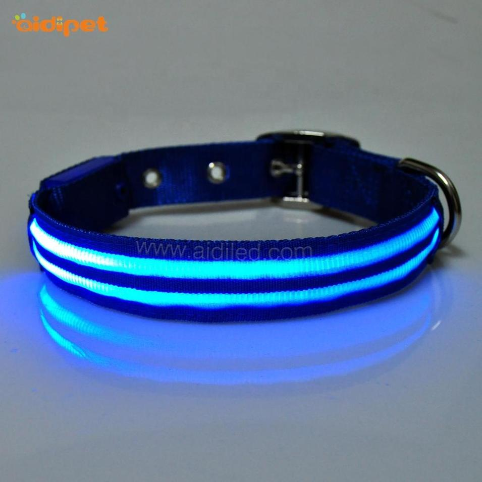 Xmas Led Dog Collar with Charming Light Classic Style Led Dog Collar Leash Sets Made In China Luminous Led Pet DogCollar