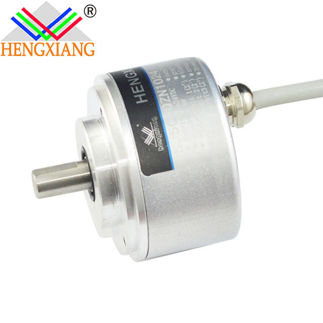 SJ50 Hengxiang absolute encoder Digital Length Measuring Encoder Absolute Rotary Angle Sensor 5bit PNP