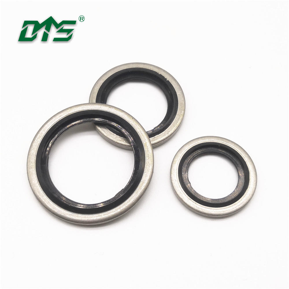 Stainless Steel 316SS NBR/FKMBonded Seal bsp 1/4