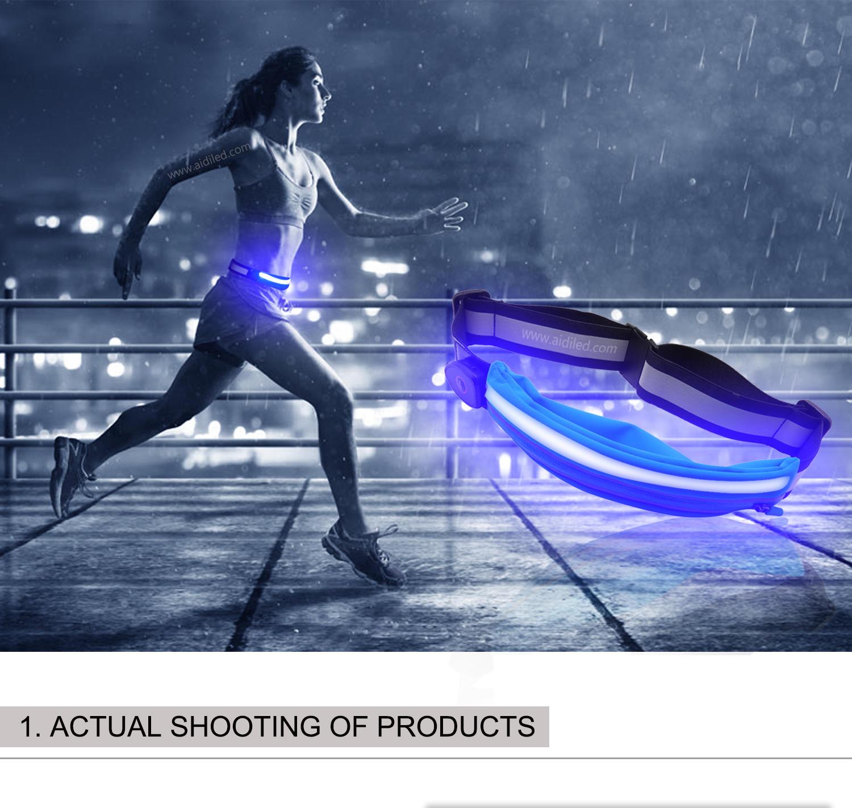 Wholesale Fashion Hot on Amazon Waist Pack Waterproof Belt Running Sports waist bag