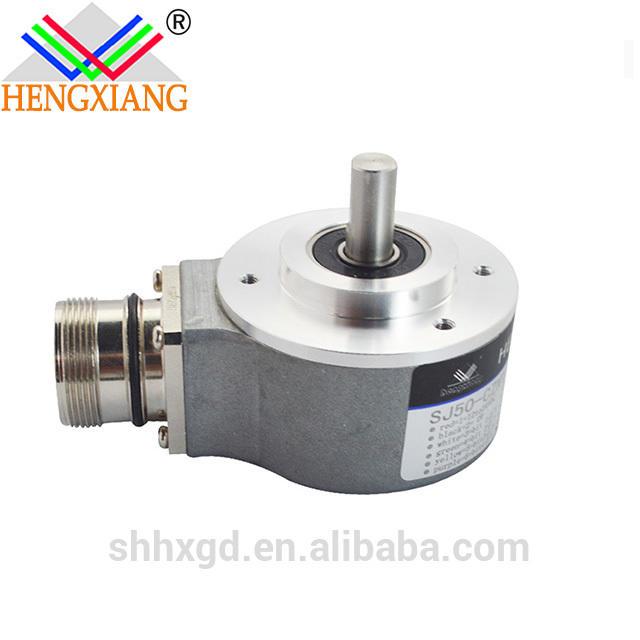 sj50 absolute shaft encoder dc 12-24v 2 bit rotary encoder
