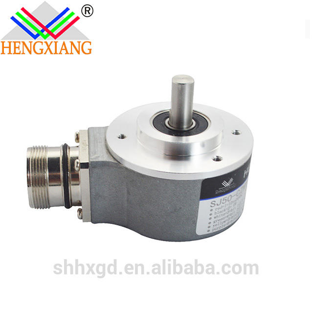 sj50 absolute shaft encoder dc 12-24v 2 bit rotary encoder