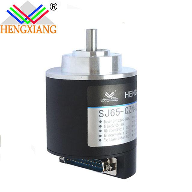 Hengxiang optical absolute encoder SJ65 SSI Output/RS485/RS422 Absolute Encoder Sensor Manufacturer Price 5bit NPN
