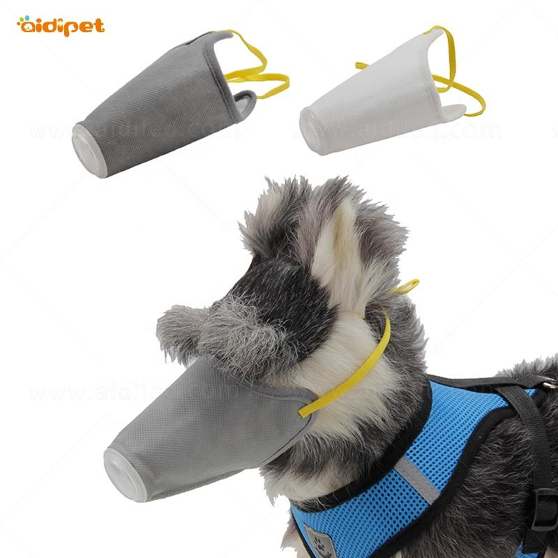 Pet Dog Protective Mask for Dog Safety Three Layers Mask for Dog Walking with Breathing Valve