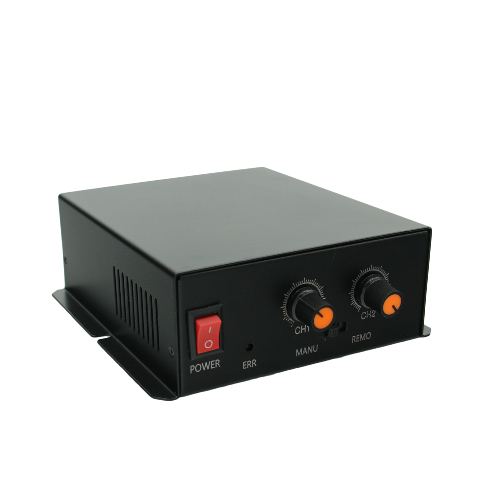 FG wholesale high quality CE standard 2 channels 24V voltage controller for machine vision system