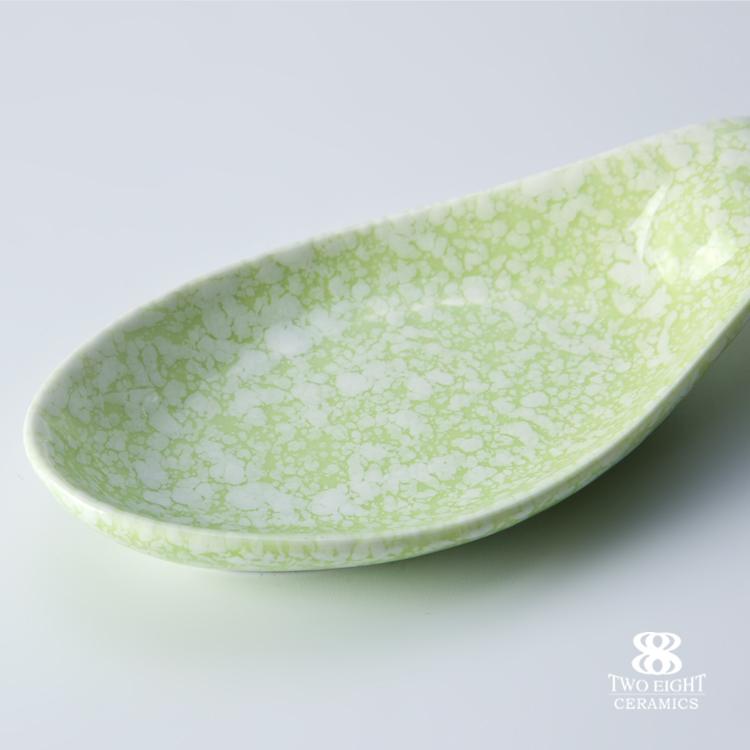 Porcelain bending Dip Clips,Color Glazed Mini Dishes,Sauce Dishes