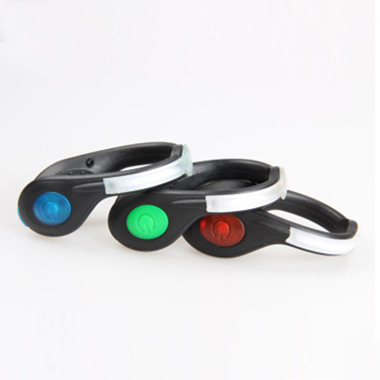 Usb Rechargeable Outdoor sports Led shoe clip light for running