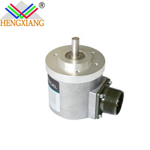 S65 encoder with thickness 53mm CE Certificate 5000 PPR Rotary Optical Encoder 4 phase