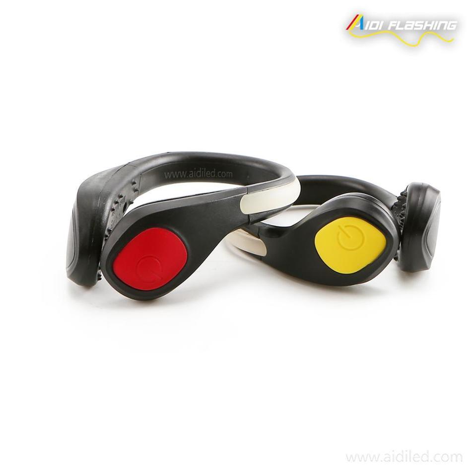 Fashion Shoe Accessory Led Shoe Clip Light Flashing at Night for Running Walking