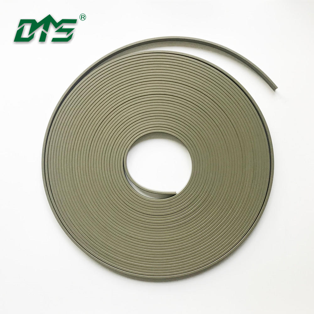PTFE filled RYT guide ring wear strip for hydraulic elements