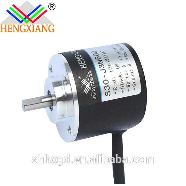 incremental encoder EL30 shaft 4mm E30S4-200-3-2-4 NPN&PNP signal, mini solid shaft rotary encoder