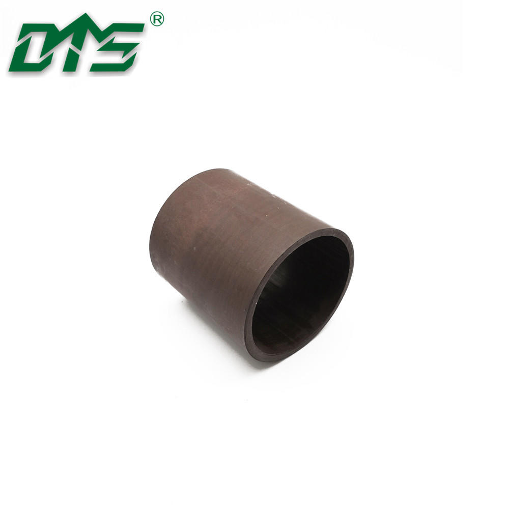 Brown color 40% bronze filled PTFE tuber for hydraulic seal