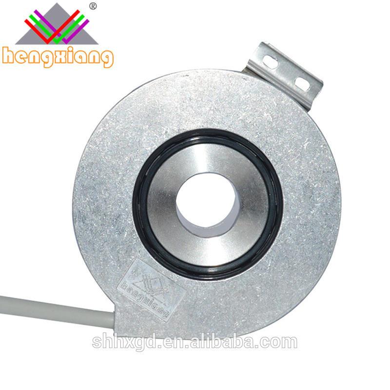 incremental optical hole rotary encoder K76 25mm hole DC5/30V 1024p