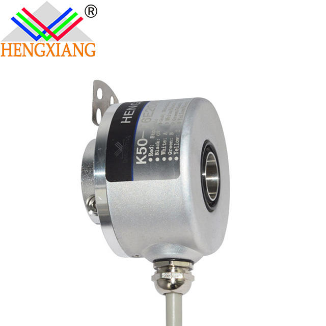 8mm hole encoder K50 shaft/hollow/built-in type rotary 5 signal