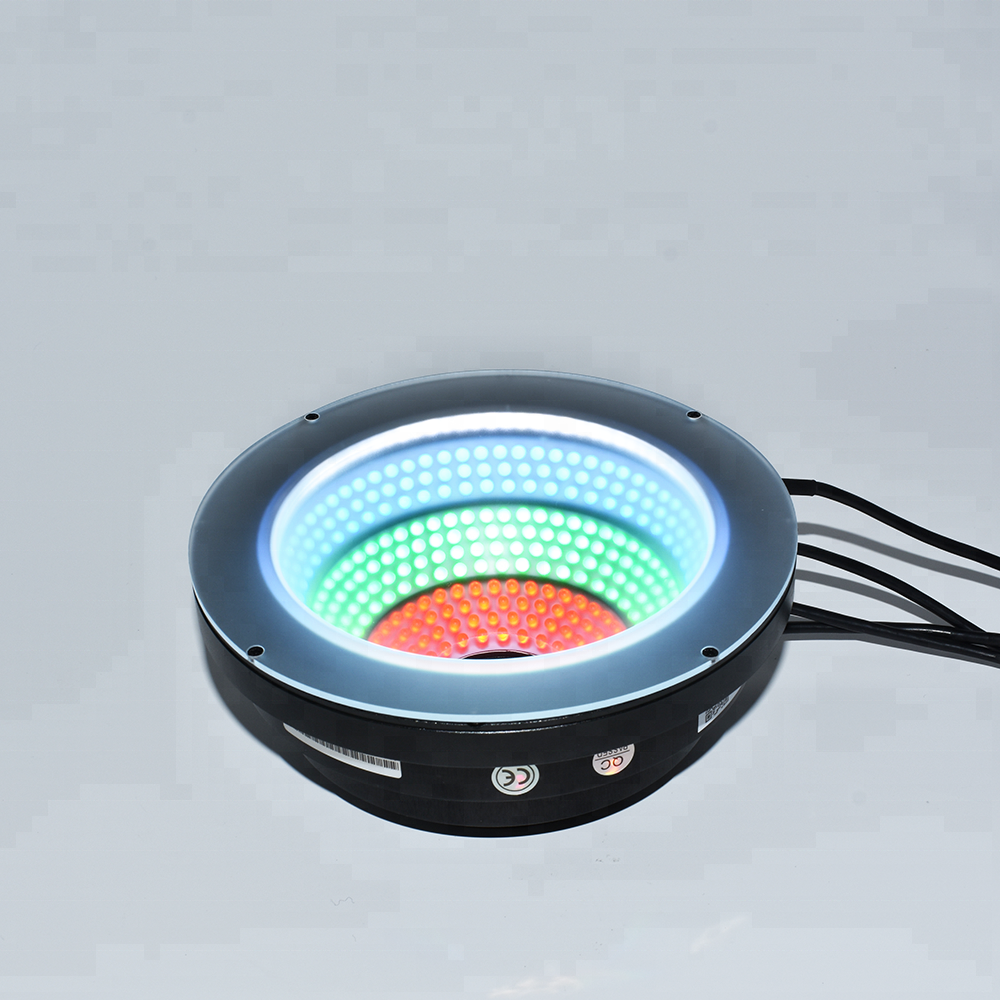 Colorful lights AOI light for industrial machine vision light inspection