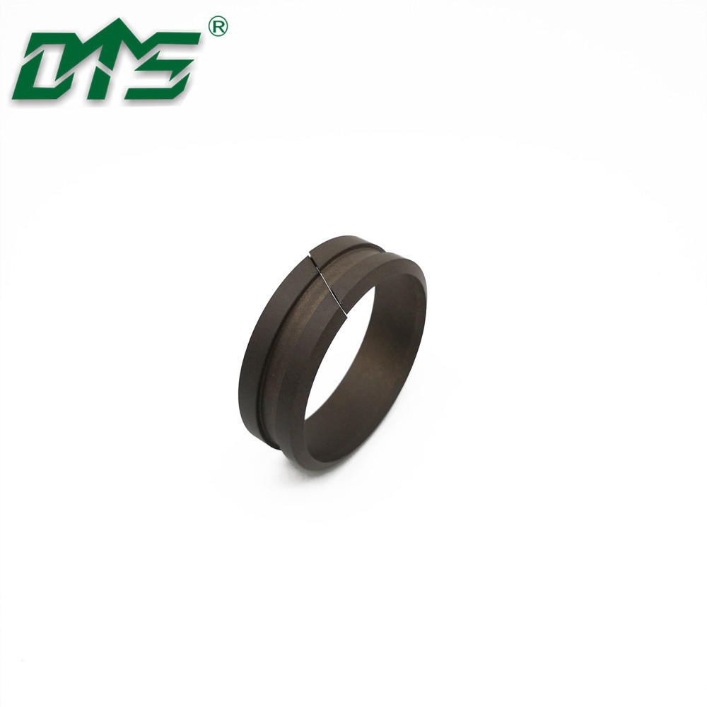 Good Quality Standard Size and Custom Filled PTFE Piston Rod With Lip Scraping Guide Sleeve DFAI