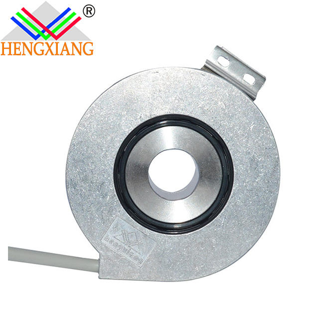 China encoder K76 Standard 30mm Hollow Shaft Angle Sensor Optical Encoder PNP open collector