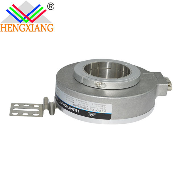 China encoder factory K100 Hollow Shaft Rotary Encoder Elevator Parts 8 wires