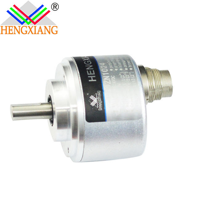 solid shaft 58mm Solid Shaft Rotary 5000 PPR Incremental Optical Encoder 360 pulse 360ppr ABZA-B-Z-phase