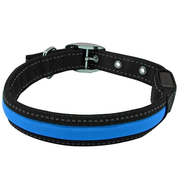 Pet Accessory Fashioned Flashing Remarkable Security Led Dog Collars Wholesale in stock