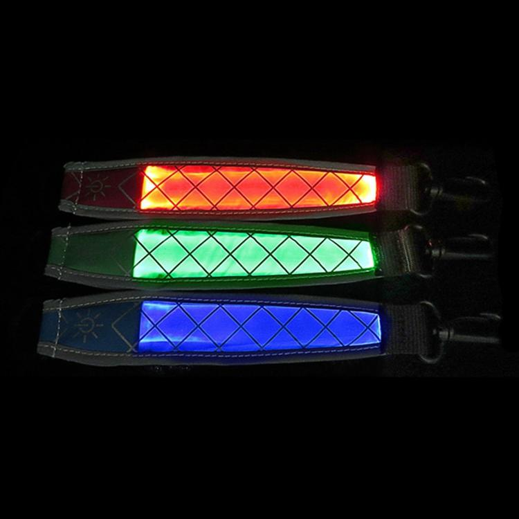 Led Bag Part Accessories Reflective Straps Camping Hiking Safety LED Accessories Parts for Backpack