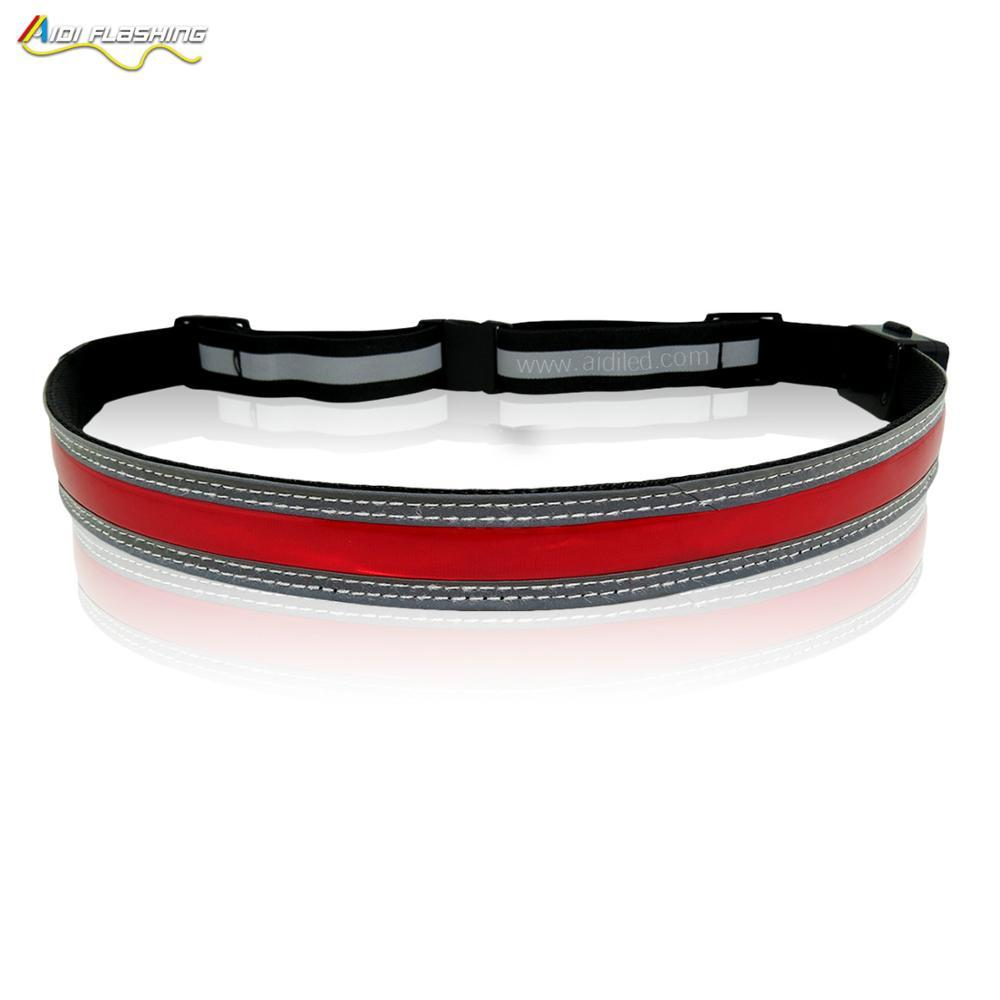 Factory direct sale OEM custom running waist beltLED lighted waist bag