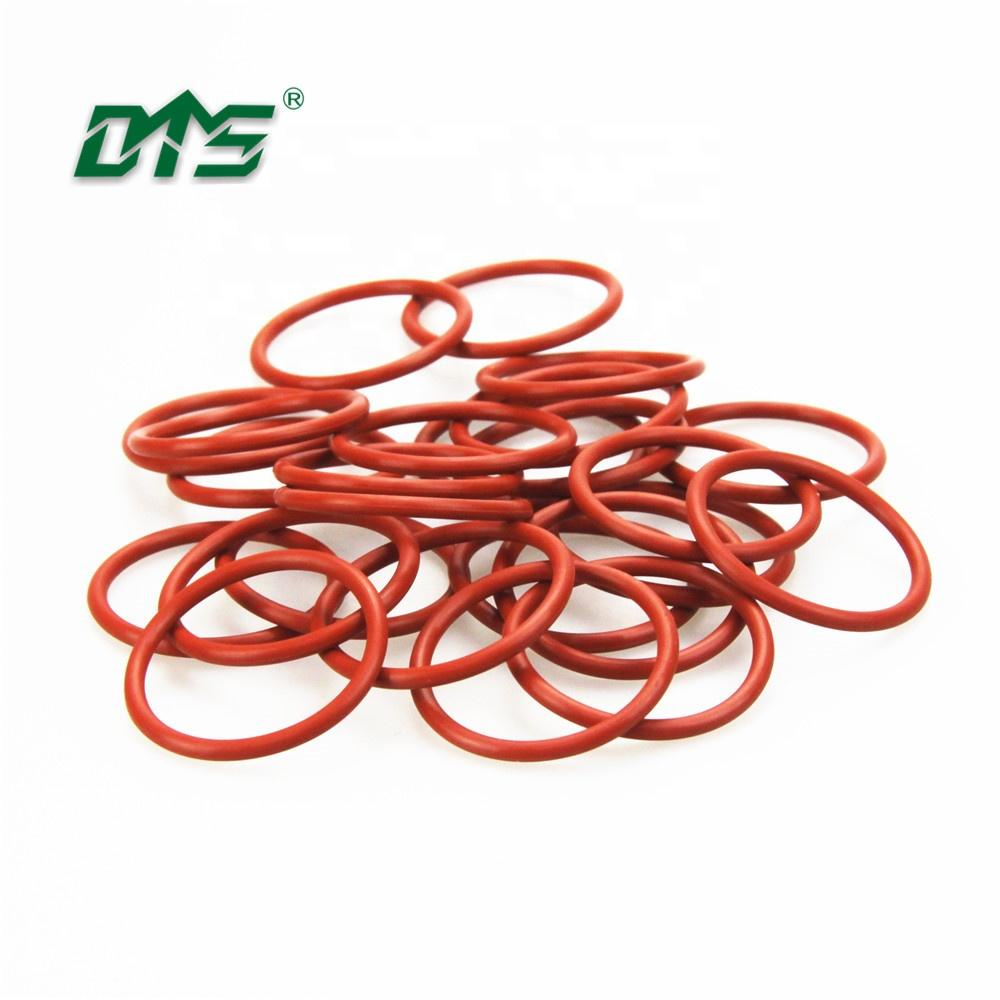 colorful/white/black/clear medical food grade silicone/FKM/EPDM/NBR rubber o ring for sealing rubber o-ring