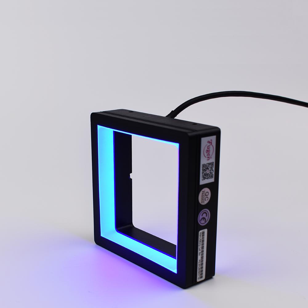 Machine Vision Light Diffused Shadowless Square Light Optical Measurement Equipment