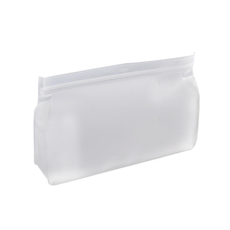 Wholesale customreusable snack Fresh-keeping bag PEVA bag food grade kitchen peva food packaging bag
