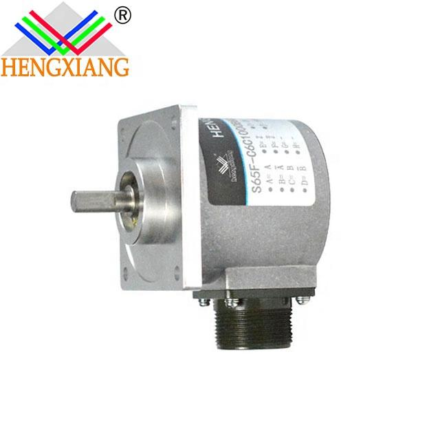 12v motion sensor encoders -S65F Flange Shaft rotary Encoder with 12V Motion Sensor