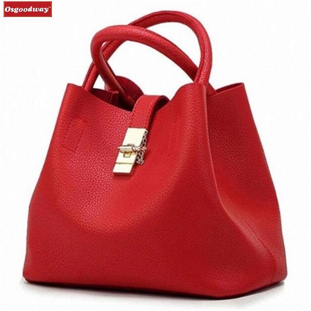 Osgoodway Fashion Women Bags Designer Women Messenger Bags Ladies pu Leather Handbag Female Bag