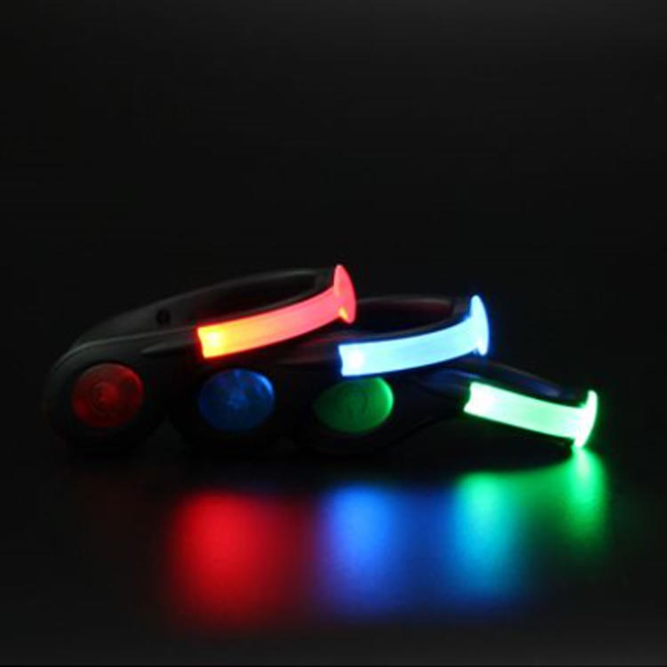 Biking Led Clip Light Shoes Accessories LED Shoe Clip For Night Running Walking