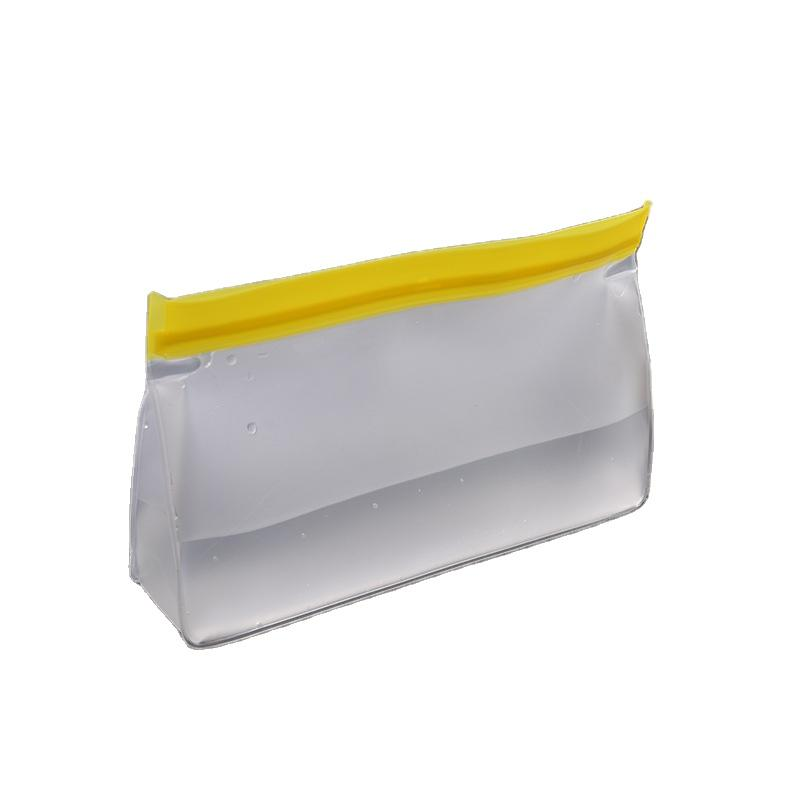 Wholesale translucent frosted washable reusable peva food packing storage bag Different Size
