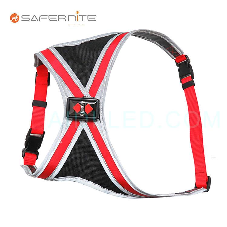 Top Selling Harness with Led Light China Factory Manufacturer Wholesale Flashing Led Dog Harness 360 LuminousDog Harness